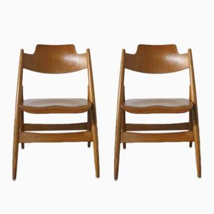 Vintage Folding Chairs by Egon Eiermann for Wilde+Spieth, Set of 2