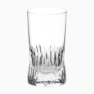 Irish Handmade Crystal Cuttings Series Gin/Hi-Ball Glass by Martino Gamper for J. HILL's Standard