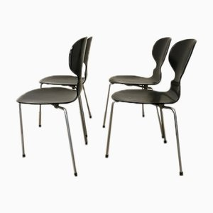 Vintage Ant Chairs by Arne Jacobsen for Fritz Hansen, Set of 4