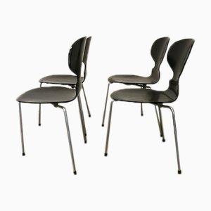 Vintage Ant Stühle von Arne Jacobsen für Fritz Hansen, 4er Set