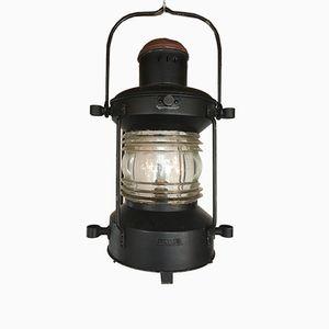 Large Vintage Ship Lamp