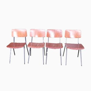 Dutch Chairs from Eromes, Set of 4