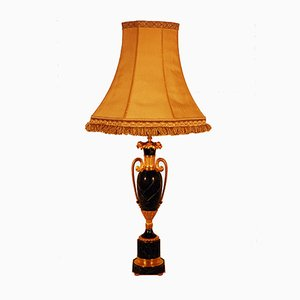 Vintage Marble & Gilt Bronze Table Lamp from Maison Jansen