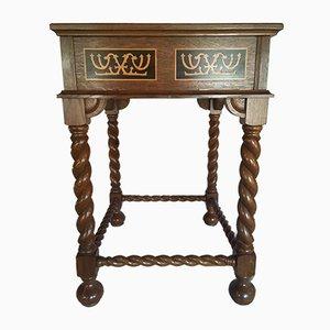 Mesa vintage con caja de costura