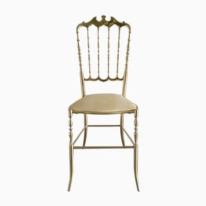 Chiavari Chair aus Messing, 1960er