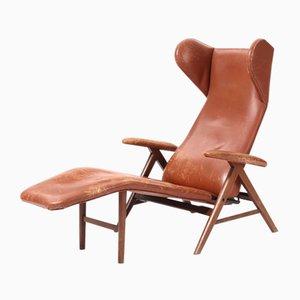Chaise Lounge danés, años 60