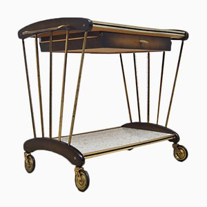 Mid-Century French Bar Cart, 1950s