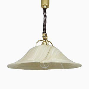 Vintage Brass & Acrylic Ceiling Lamp from Cosack, 1970s