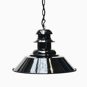Lámpara colgante vintage negra