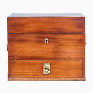 Mahogany Apothecary Box, 1840s