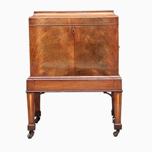 19th-Century Mahogany Cellaret