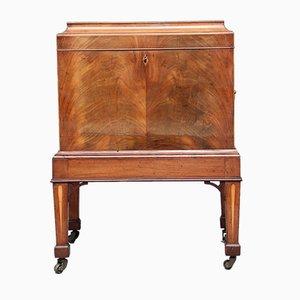 Mobiletto in mogano, XIX secolo