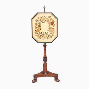 Kaminschirm aus Palisander, 1830er