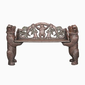 Swiss Hall Bench, 1880s