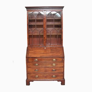 18th-Century Mahogany Secretaire
