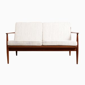 Mid-Century Teak 2-Seater Sofa, 1960s