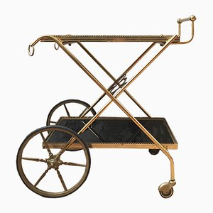 Vintage French Brass Trolley