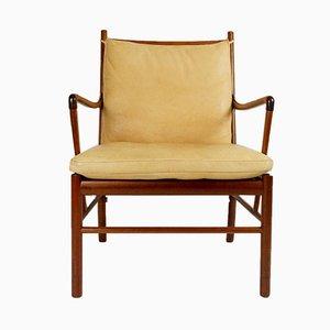 Chaise Colonial par Ole Wanscher pour Poul Jeppesen, 1950s