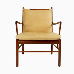 Colonial Chair by Ole Wanscher for Poul Jeppesen, 1950s