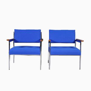 Office Side Chairs, 1970s, Set of 2