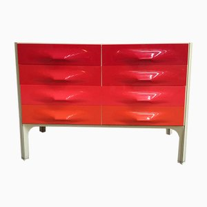 X-Line DF2000 Drawer Cabinet by Raymond Loewy for Doubinsky-Freres, 1968