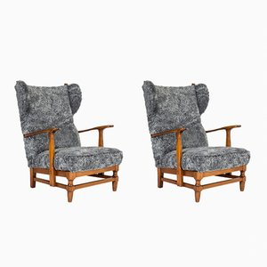 Lounge Chairs by Gunnar Göperts, 1940s, Set of 2