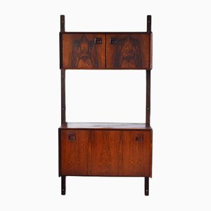Mid-Century Rosewood Wall Unit from TopForm