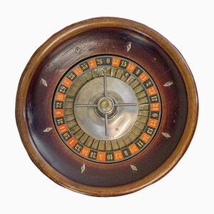 Vintage French Roulette Board, 1920s