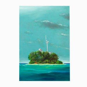 Inselchen I Art Kunstdruck Edition von Sebastian Gahntz, 2014