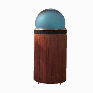Normanna Tisch- oder Stehlampe in antikem Pink & Blau von VI+M Studio für Purho