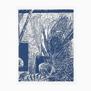 Linocut Kunstdruck von Sten Gutglück, 2018