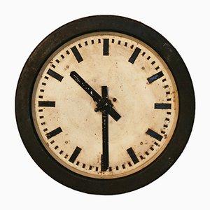 Horloge d'Usine Électrique Mid-Century, Pologne