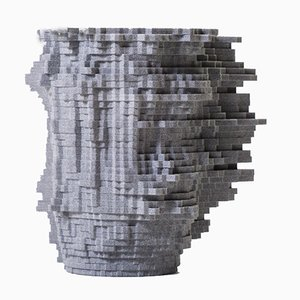 Shape of Things To Come Soundplotter Vase by SHAPES iN PLAY