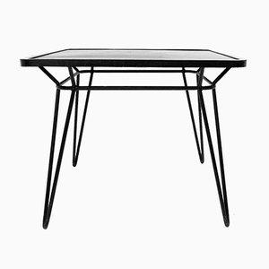 Viereckiger Vintage Tisch aus Gusseisen von Ico Parisi