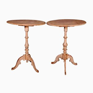 Antique Swedish Tables, Set of 2