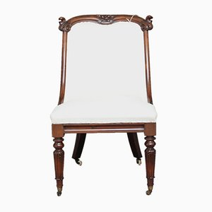 Rosewood Slipper Chair, 1840s