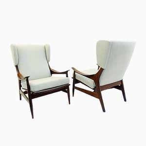 Vintage Armchairs by Peter Hvidt & Orla Mølgaard-Nielsen, Set of 2