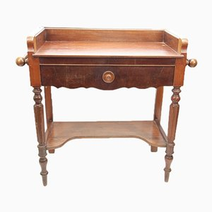 Table Coiffeuse Antique en Noyer