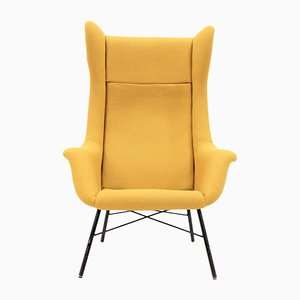 Wingback Armchair by Miroslav Navratil, 1960s