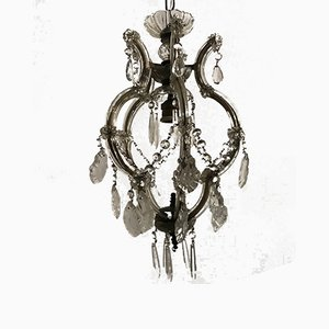 Vintage Crystal Pendant Light