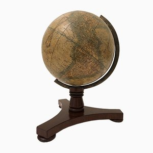 Globe from Woodward London, 1845
