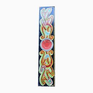 Großes handbemaltes Vintage Rummelschild von Fred Fowle