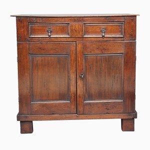 Oak Enclosed Chest, 1720s