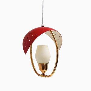 Lámpara colgante de Fog & Mørup, años 50