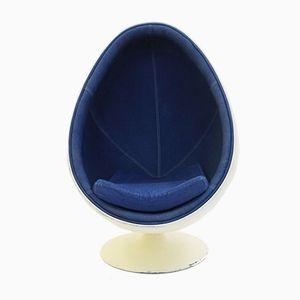 Chaise Egg Ovalia par Thor Larsen pour Torlan Staffanstorp, Suède, 1960s