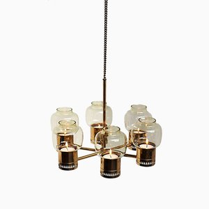 Hanging Candlestick Chandelier by Hans Agne Jakobsson for Hans-Agne Jakobsson AB Markaryd, 1960s