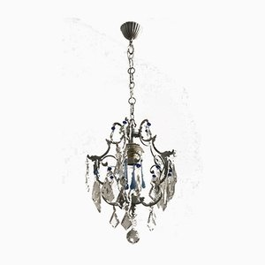 Vintage Crystal & Murano Chandelier