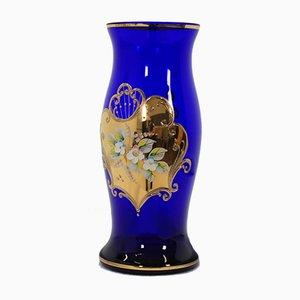 Vase Tchèque en Verre de Novoborské Sklo, 1970s