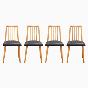 Czech Dining Chairs from Interier Praha, 1960s, Set of 4