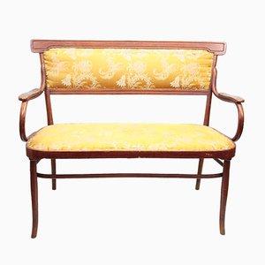 Antikes österreichisches 2-Sitzer Sofa von J. & J. Kohn